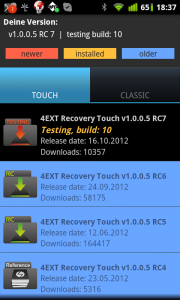 4EXT Recovery Control 3