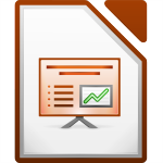 LibreOffice 4.0 Impress Icon
